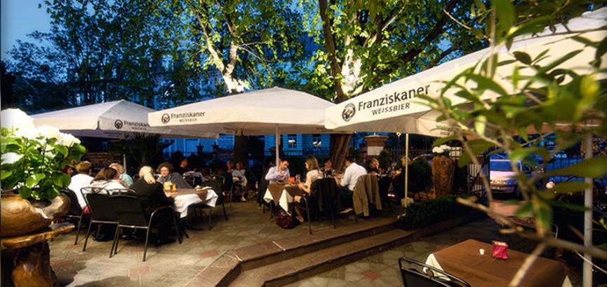 Restaurant Darmstadt - Djadoo Außenterrasse