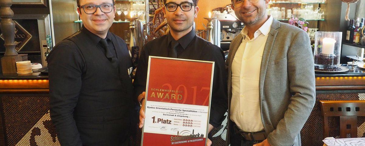Restaurant Djadoo Darmstadt Schlemmerblock Award